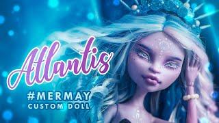 Princess Atlantis • SHINee tribute • #MERMAY Monster High OOAK • Custom Doll Tutorial