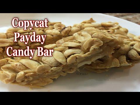Copycat Payday Candy Bar