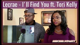 lecrae ill find you ft tori kelly couple reacts