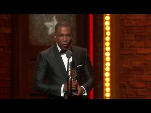 Acceptance Speech: Leslie Odom Jr. - Best Leading Actor in a ...