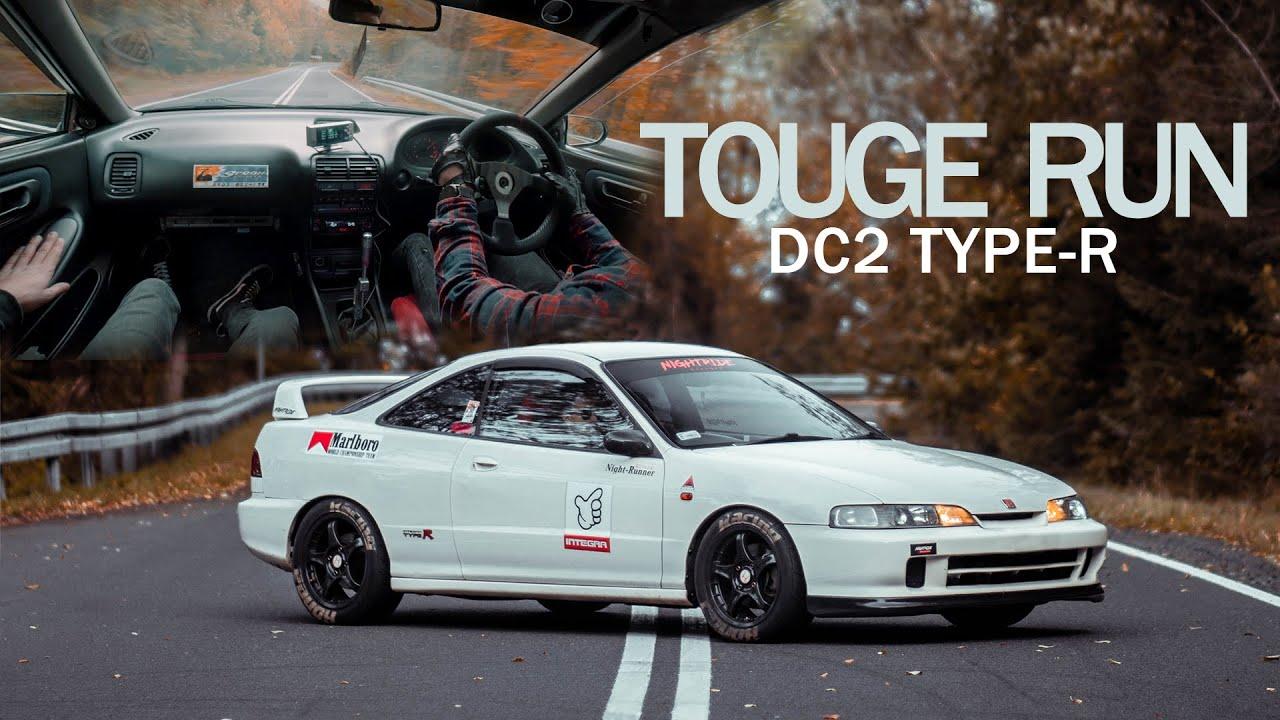 Download Touge run.   Honda Integra DC2 Type-R JDM  Nightride (4K)