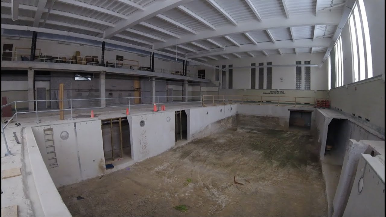 Urban Exploring Western University Thames Hall Old Pool Youtube