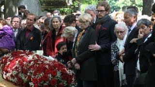 Obsèques de l'universitaire Guy Carcassonne