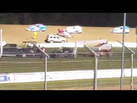 Lernerville speedway steel city stampede rush modified feature