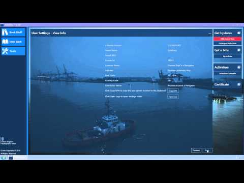 User Settings in the ADMIRALTY e-Nautical Publications (e-NPs) Reader