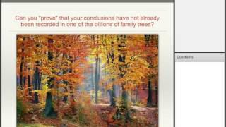 Jumpstart Your Family History in Ten Steps - James Tanner