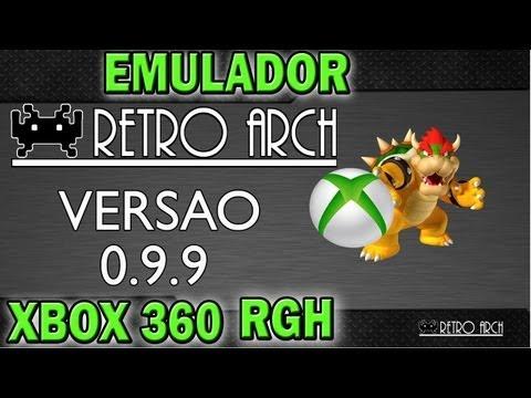 EMULADOR # RetroArch 360 - v0.9.9 # MULT PLATAFORMA # PARA XBOX360 RGH
