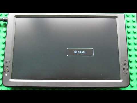 Leadstar D12 DVB-T2 12.1 Inch Portable Digital TV and Monitor - Menu Settings