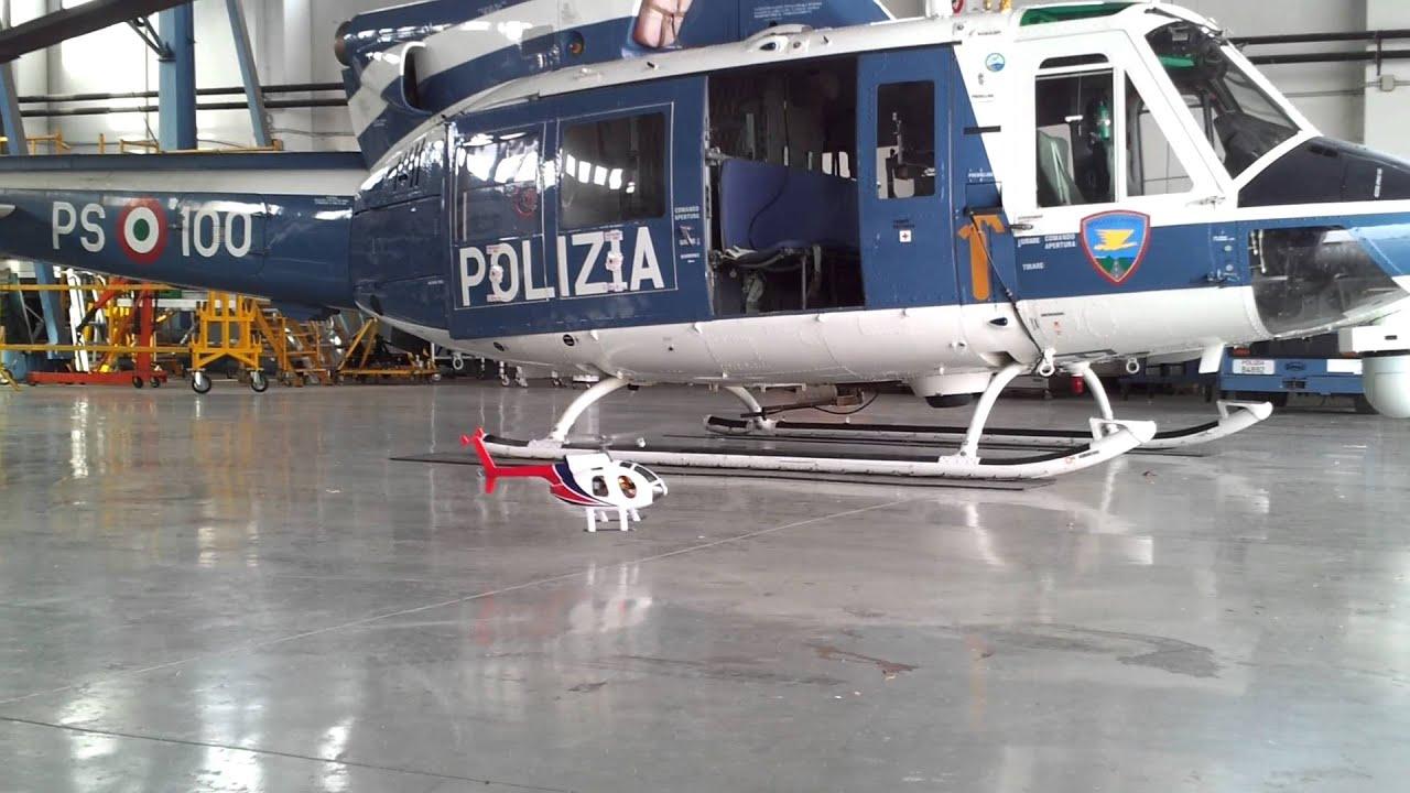 Elicottero A Benzina : Intervento di polizia con l elicottero youtube