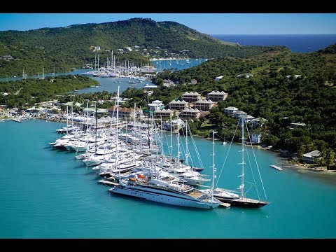 Antigua, Caribbean Island in 4K