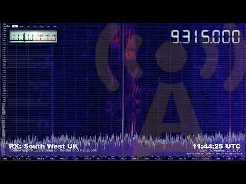 RADIO FREE ASIA // TX: Dushanbe, Tajikistan // RX: South West UK // #Radio #Shortwave #SWL