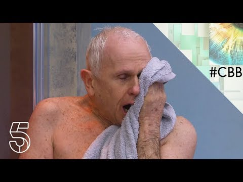 Wayne has a cold shower | Day 16 | Celebrity Big Brother 2018
