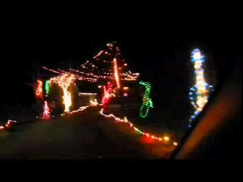 symphony of lights drive through columbia md youtube