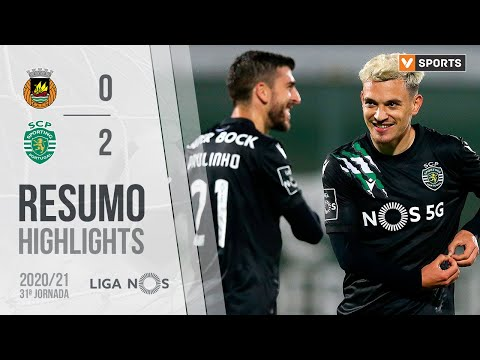Rio Ave Sporting Lisbon Goals And Highlights