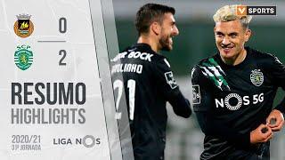 Highlights   Resumo: Rio Ave 0-2 Sporting (Liga 20/21 #31)