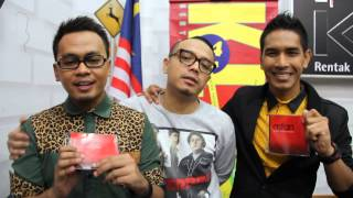 Asfan interview with DJ Sonic & DJ Nazrie KLFM