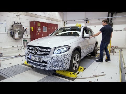 Mercedes-Benz GLC F-CELL Production and Testing at Kirchheim Nabern