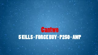 CS:GO - Cantwo - Ace with [AWP|P250] - Comical Highlight