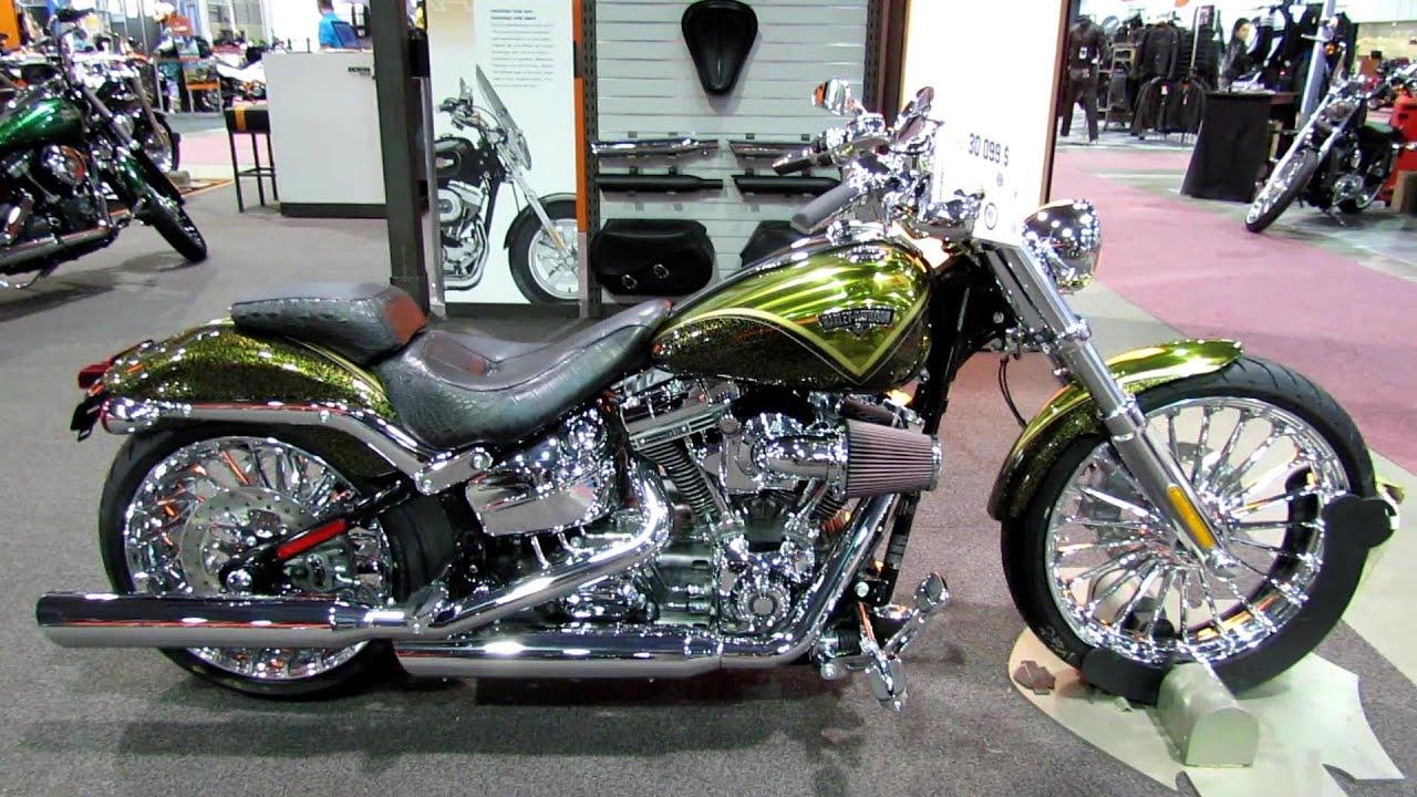 2013 harley davidson softail cvo breakout walkaround 2013 quebec city motorcycle show youtube