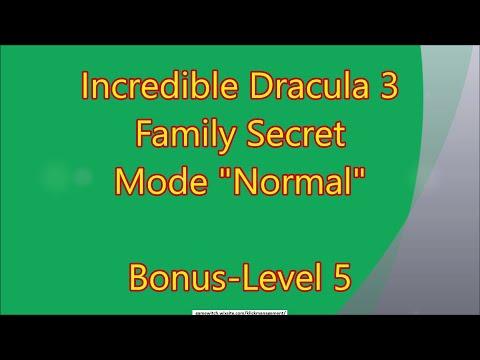 Increcible Dracula 3 - Family Secret CE Bonus-Level 5 |
