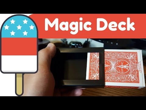 Vanishing Deck of Cards: Magic Review and Tutorial