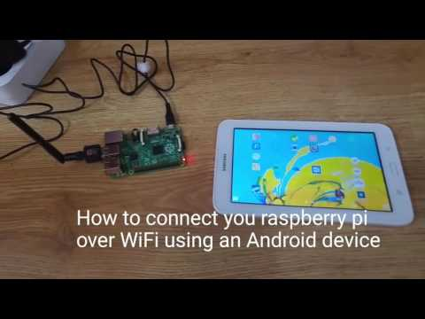How to connect your raspberry pi over wifi using an Android device using vnc server