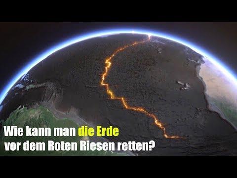 Wie kann man die Erde vor dem Roten Riesen retten?