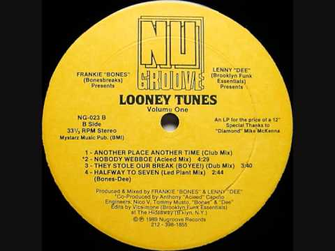 FRANKIE BONES & LENNY DEE - NOBODY WEBBOE (ACIEED MIX) 1989