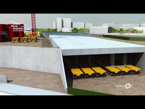 Grand Paris Express : la construction de la gare Fort d'Issy-Vanves-Clamart résumée en 5 minutes