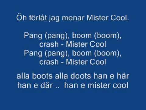 Snoke-Mr.cool Lyric on swedish