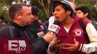 Estudiantes del IPN se manifiestan contra nuevo reglamento / #todossomosipn