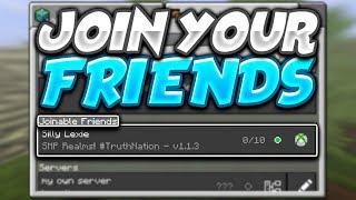 HOW TO JOIN AND INVITE FRIENDS TO PLAY IN MINECRAFT[1.3.0]MINECRAFT POCKET EDITION 1.2.9+ UPDATE!