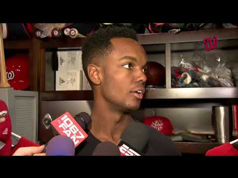 Michael A. Taylor on returning to the Nats