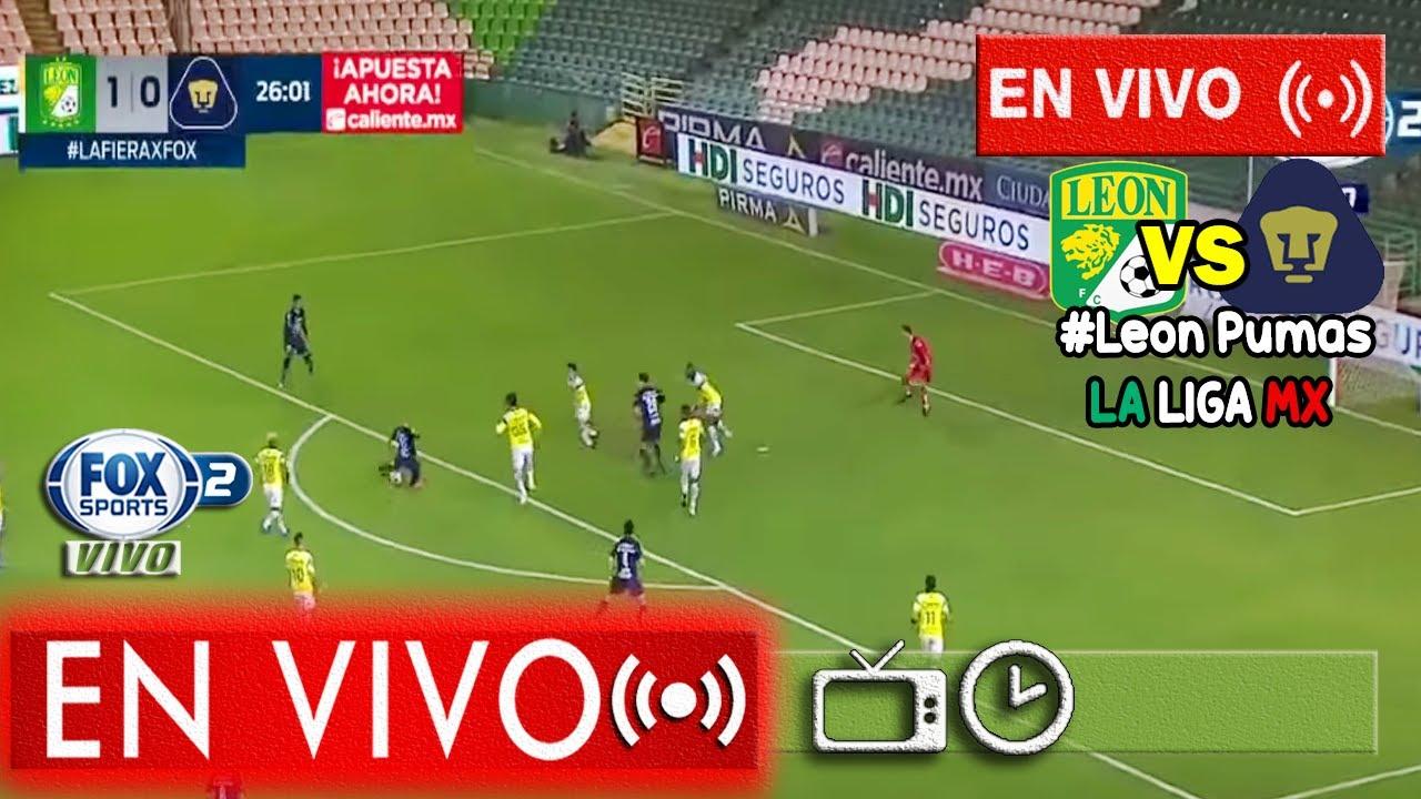 Leon Vs Pumas En Vivo Fox Sports Jornada 11 2020 Youtube
