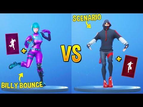 BILLY BOUNCE vs SCENARIO - Fortnite Battle Royale