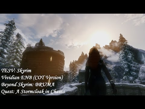 Beyond Skyrim: BRUMA - Quest: A Stormcloak in Chains