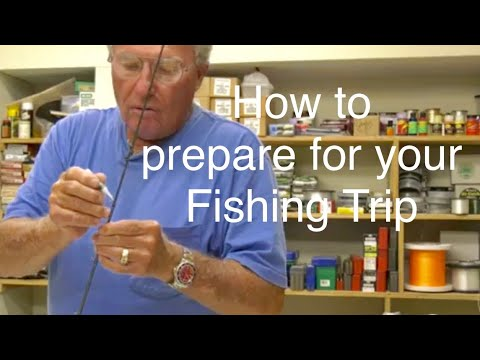How to prepare for your next fishing trip