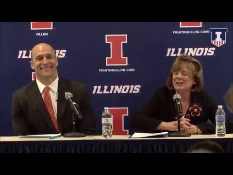 @IlliniAthletics AD Josh Whitman Introductory Press Conference