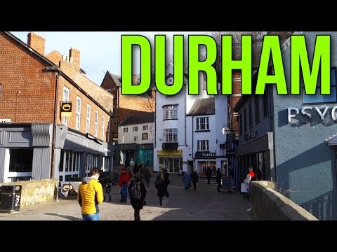 Places To Live In The UK - The City Of DURHAM , County Durham DH1  England