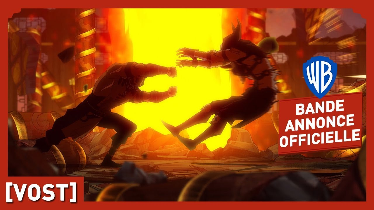 Mortal Kombat Legends : Scorpion's Revenge - Bande Annonce Officielle (VOST)