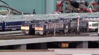 Repeat youtube video 本格的な運転台を使ったHOゲージ(国際鉄道模型コンベンション2012)