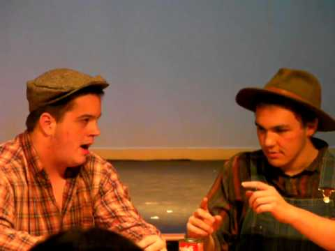 """Of Mice and Men"" - Act 2 The Woodhall School 02/24/13"