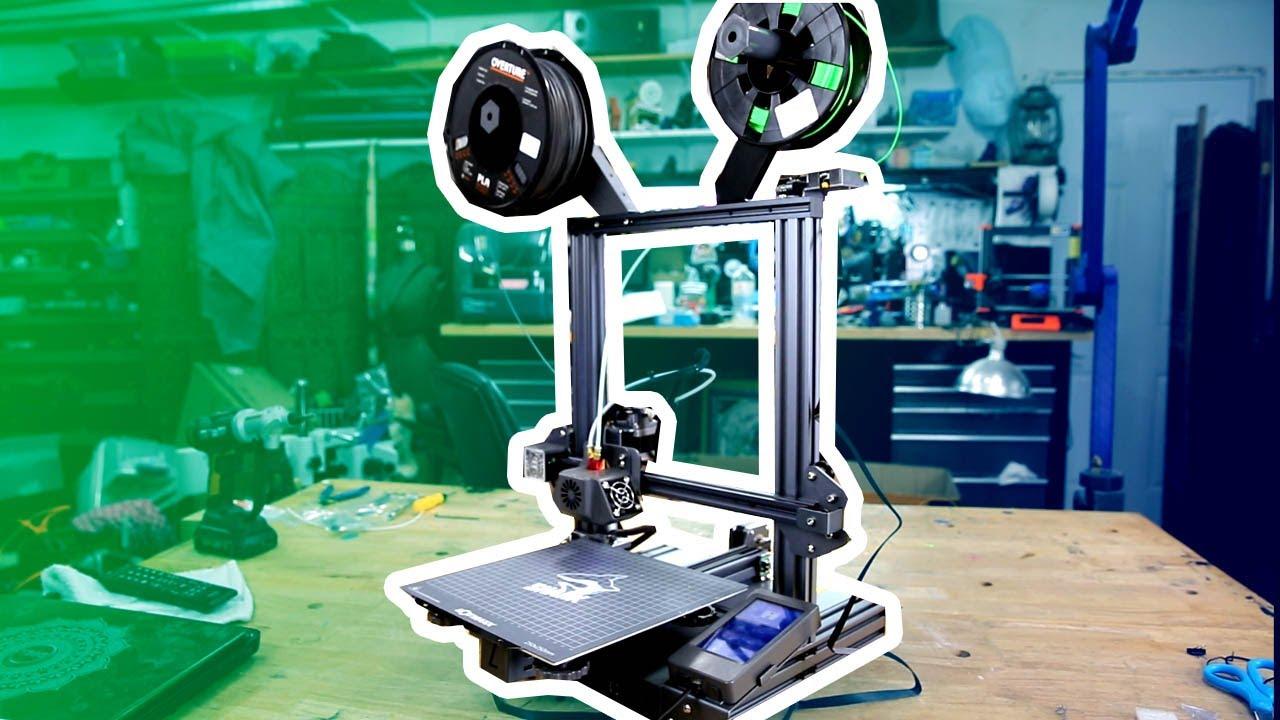 Multi Color 3d Prints: Lotmaxx Shark V2 3D Printer