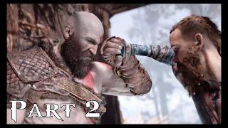 God of War PS4 Walkthrough Gameplay Part 2 (God of War 4)