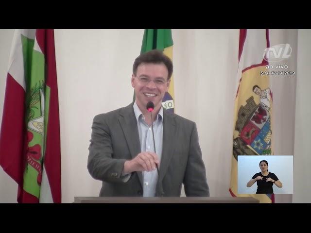 12/11/2019 - Pronunciamento Sessão Ordinária