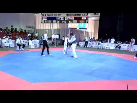 Fujairah Open International Taekwondo Day 3 Court 4