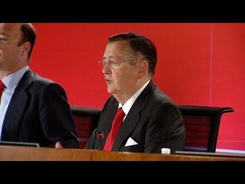 Alfredo Sáenz cree que en a finales de 2013 se verán signos de crecimiento