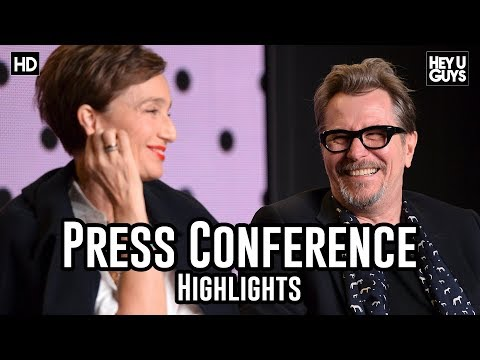 Darkest Hour Press Conference Highlights  Gary Oldman  Ben Mendelsohn