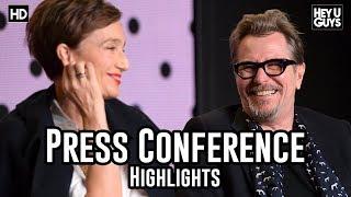 Darkest Hour Press Conference Highlights | Gary Oldman | Ben Mendelsohn | streaming