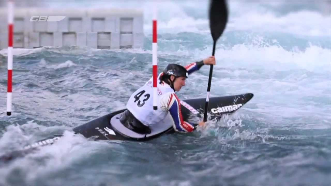 2012 British Olympic Canoe Slalom Team
